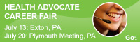 Health Advocate Career Fairs - July 13 and July 20