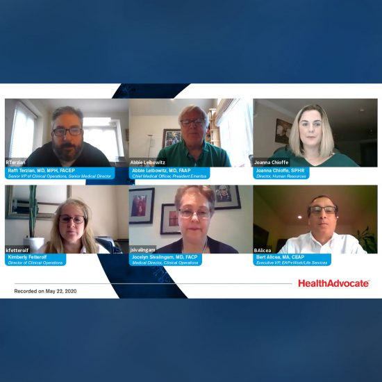 Health Advocate Expert Panel – COVID-19 FAQs